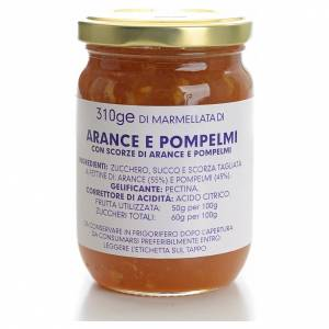 Jams and Marmalades: Orange and grapefruit marmalade of the Carmelites monastery 310g