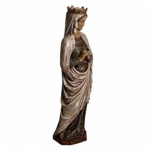 Stone statues: Our Lady of Annunciation in Pyrenees stone, Bethléem 48cm