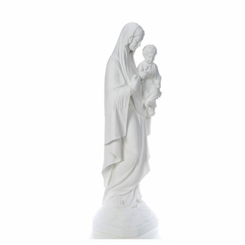 Our Lady of Consolation, 130 cm statue in reconstituted marble s4