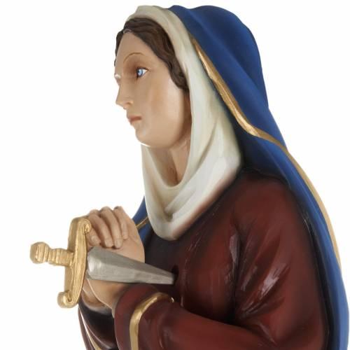 Our Lady of Sorrows, fiberglass statue,  80 cm s3