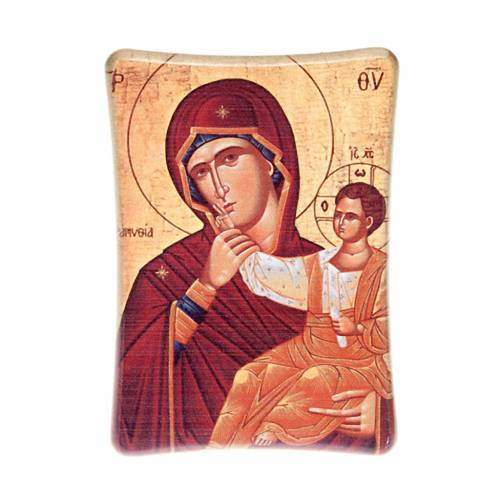Our Lady with baby, table print s1