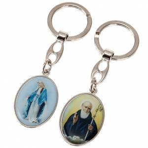 Oval keyring with images s1
