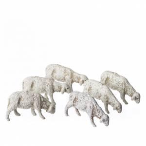 Ovejas 6 figuras Belén Moranduzzo 6 cm s1