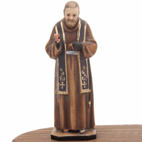 Padre Pio avec lampe votive s3