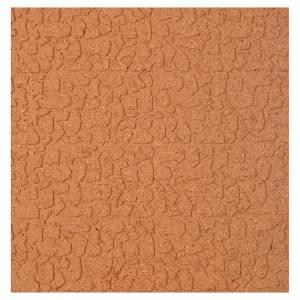 Sfondi presepe, paesaggi e pannelli: Pannello sughero muro pietra sfalsata 100x50x1