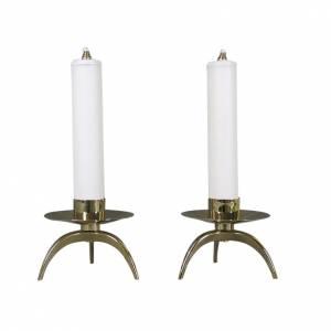 Pareja de candelabros ortodoxa completa s1