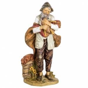 Figuras del Belén: Pastor con gaita 85 cm. Fontanini