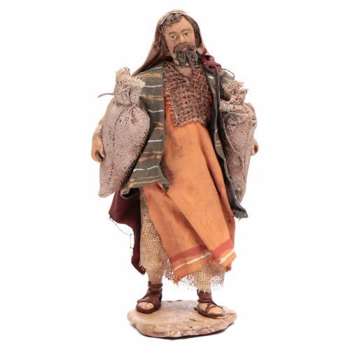 Pastor con sacos Belén 13 cm Angela Tripi s1