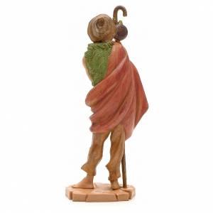 Pastore con borraccia 19 cm Fontanini s2