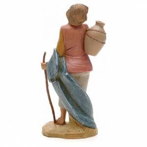 Pastore con brocca e bastone 19 cm Fontanini s2