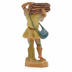 Pastore con legna 19 cm Fontanini s2