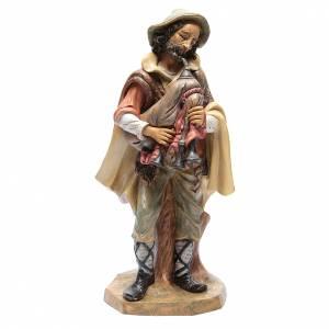 Pastore con zampogna 45 cm s1