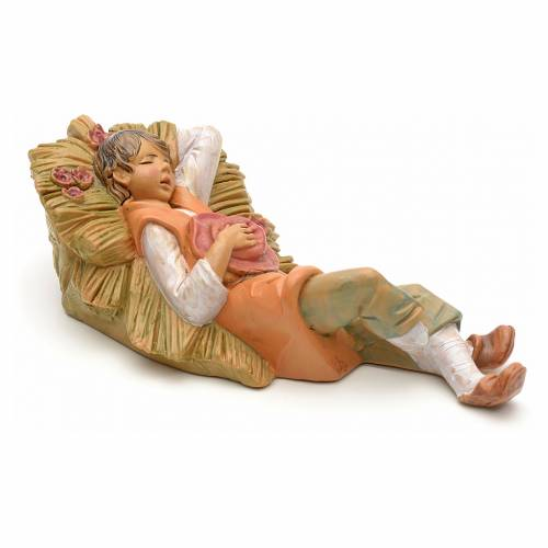 Pastorello addormentato 12 cm Fontanini s2