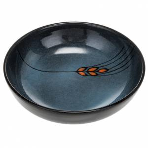 Patena de cerámica , 16cm diámetro Turquesa s1