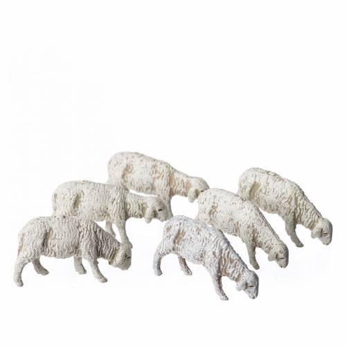 Pecore 6 pz Moranduzzo 6 cm s1
