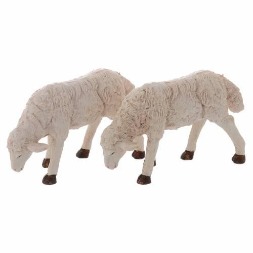 Pecore presepi plastica assortite 4 pz. 20 cm s3