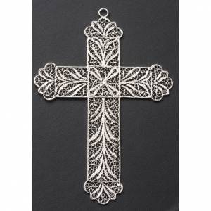 Pectoral Cross made of silver filigree s6