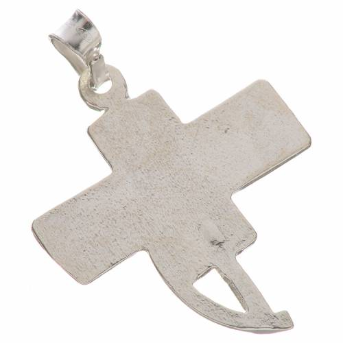 Pendant with deacon cross in 800 silver s2
