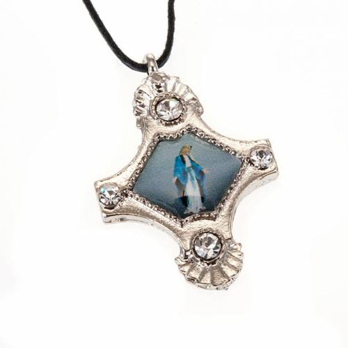 Pendant with strass cross s5