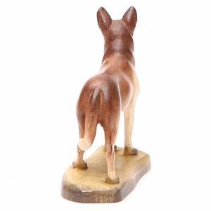 Perro 12 cm madera pesebre mod. Valgardena s3