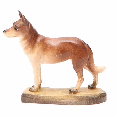 Perro 12 cm madera pesebre mod. Valgardena s2