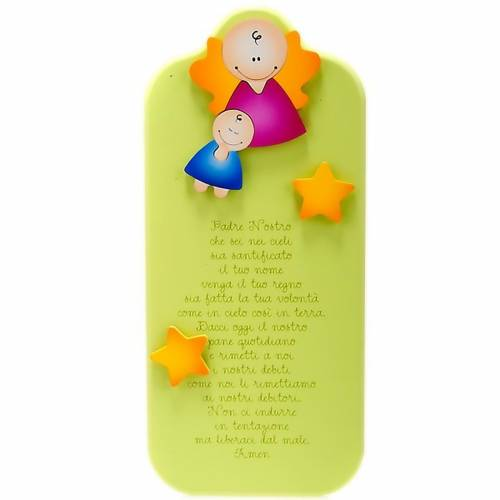 Planche Azur Notre Père, anges et étoiles s1