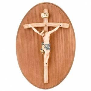 Sonstige Basreliefs: Platte mit Kruzifix