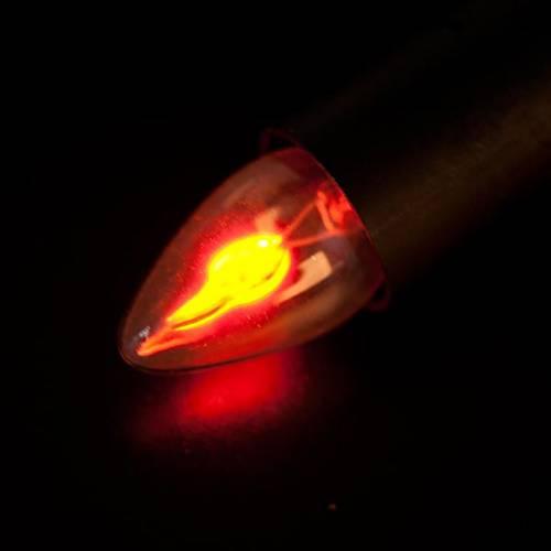 Portalámpara eléctrico efecto fuego s2