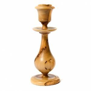Candeleros y Portavelas de madera: Portavelas olivo estilo clásico