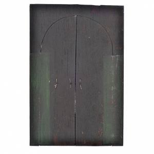 Porte en miniature crèche Napolitaine 13,5x9 cm s2