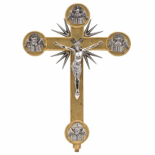Processional cross evangelists s1
