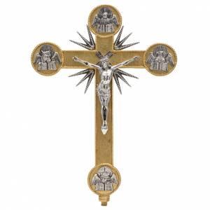 Vortragekreuze und Ständer: Prozessionskreuz Schreibern Evangeliums