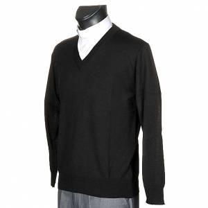 Jacken, Westen, Pullover: Pullover V-Kragen duenn