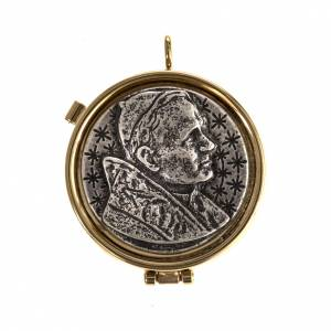 Pyxes and Burses: Pyx with Jean Paul II plate