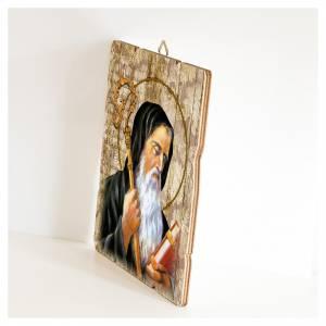 Quadro legno sagomato gancio retro San Benedetto s2