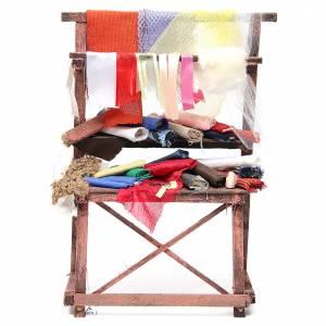 Rag seller stall for nativities measuring 39x25x14cm s1