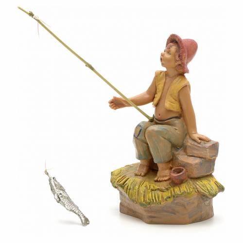 Ragazzo pescatore 12 cm Fontanini s1