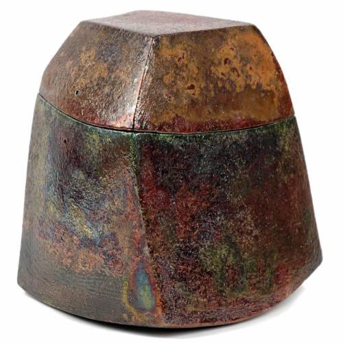 Raku urn, square 4/10 s2