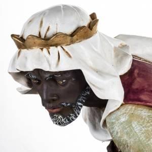 Statue per presepi: Re Magio nero 125 cm presepe Fontanini