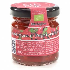 Red pepper jam, Siloe Monastery 40gr s1