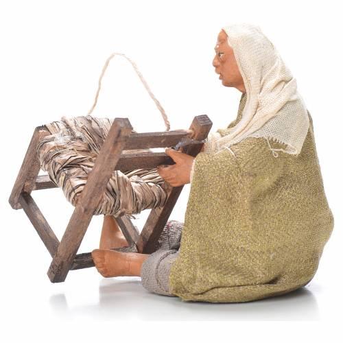 Réparateur de chaises assis 12 cm crèche napolitaine s2