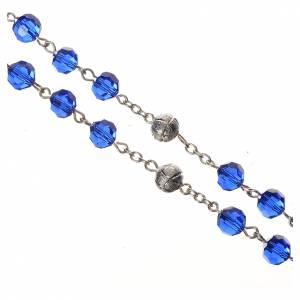 Rosario Cristallo 8 mm blu s3