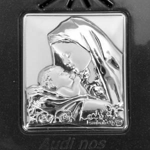 Rosario elettronico grigio immagine argento s5