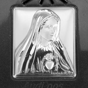 Rosario elettronico grigio immagine argento s4