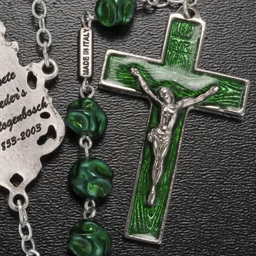 Rosario Ghirelli Madonna di Loreto verde 8 mm s5