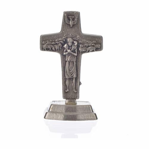 Rosario negro y cruz del Papa Francisco s5
