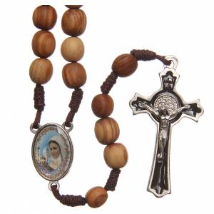 Rosaries and rosary holders: Rosary beads in Medjugorje olive wood