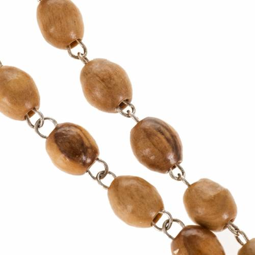 Rosary beads with river Jordan water 9 x 7 mm s3