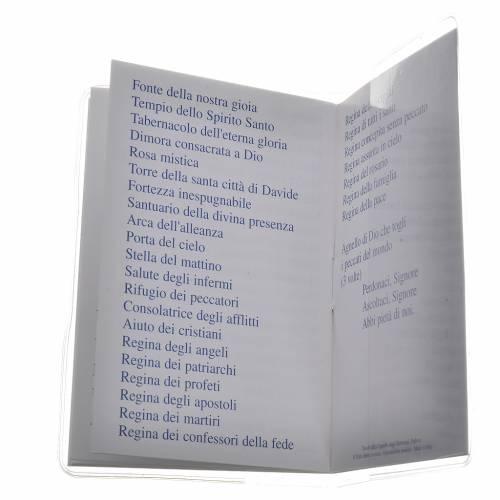 Rosary Leaflet Mary Undoer of Knots image 6,5x9,5cm s4