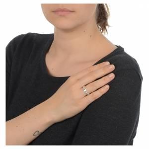 Gebetsringe: Rosenkranz Ring dekoriert Silber 800